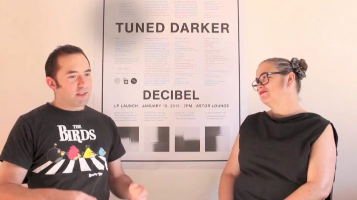 Decibel Video Cat Hope and Stuart James discuss n dimension
